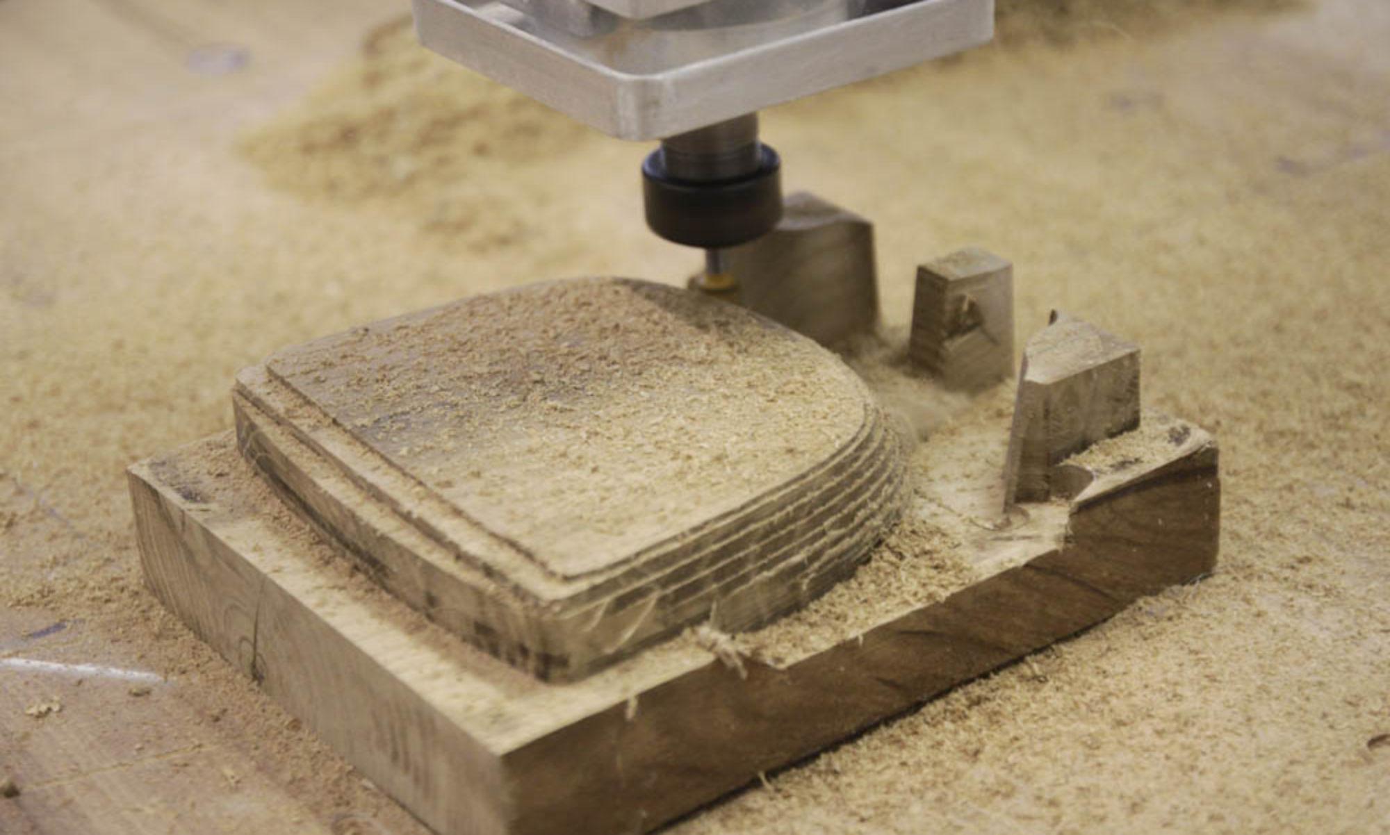 3D CNC frézování a vakuové tvarování plastů