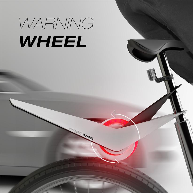 Průmyslový design - Warning wheel